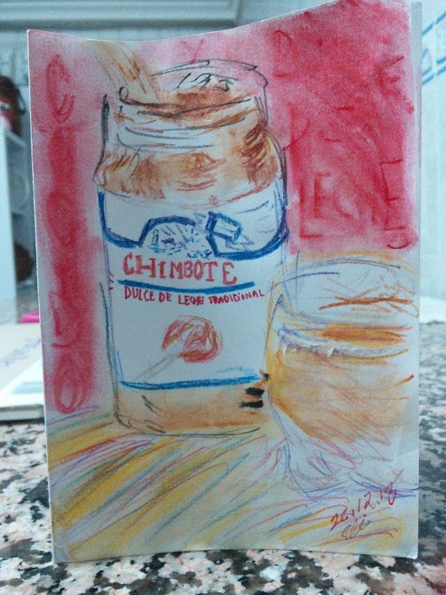 dulce de leche con cocido paraguayo en España ;)